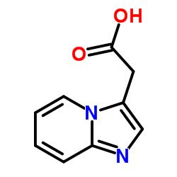 2-imidazo[1,2-a]pyridin-3-ylacetic acid CAS:17745-04-9