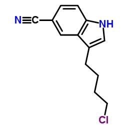 3-(4-Chlorobutyl)-1H-indole-5-carbonitrile CAS:143612-79-7