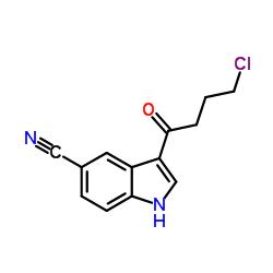 3-(4-Chlorobutanoyl)-1H-indole-5-carbonitrile