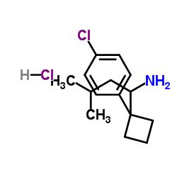 1-[1-(4-chlorophenyl)cyclobutyl]-3-methylbutan-1-amine,hydrochloride CAS:84484-78-6