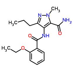 4 - [(2-etoxibenzoil) amino] -2-metil-5-propilpirazole-3-carboxamida