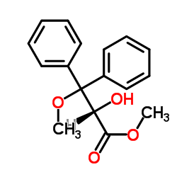 (S)-2-hydroxy methyl 3-methoxy-3,3-diphenylpropionate CAS:177036-78-1
