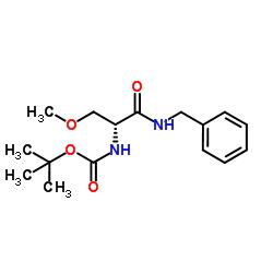 (R)-tert-Butyl 1-(benzylamino)-3-methoxy-1-oxopropan-2-ylcarbamate CAS:880468-89-3