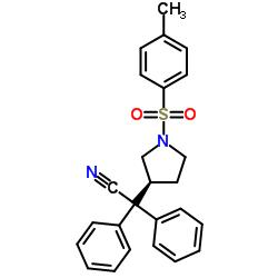3- (S)-(1- 시아 노 -1,1- 디 페닐 메틸) -1- 토실 피 롤리 딘