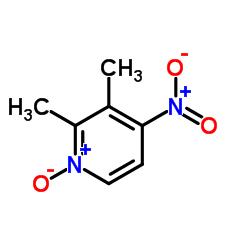 4-Nitro-2,3-lutidine-N-oxide CAS:37699-43-7