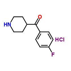 Cloridrato de (4-fluorofenil) -piperidin-4-ilmetanona
