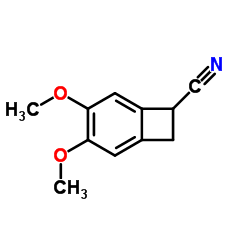 4,5-Dimethoxy-1-benzocyclobutenecarbonitrile CAS:35202-54-1