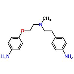 4- [2- [2- (4- 아미노 페녹시) 에틸-메틸 아미노] 에틸] 아닐린