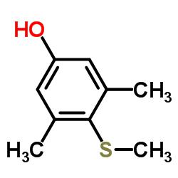 3,5-dimethyl-4-(methylsulfanyl)phenol CAS:7379-51-3
