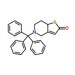 5- 트리 틸 -4,6,7,7a- 테트라 하이드로 티에 노 [3,2-c] 피리딘 -2- 온