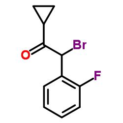 2-bromo-1-cyclopropyl-2-(2-fluorophenyl)ethanone CAS:204205-33-4