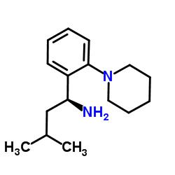 (1S)-3-methyl-1-(2-piperidin-1-ylphenyl)butan-1-amine CAS:147769-93-5