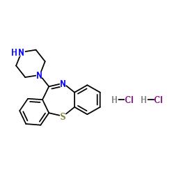 Dicloridrato de 11- (1-piperazinil) -Dibenzo [b, f] [1,4] tiazepina