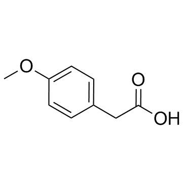 4-methoxyphenylacetic acid CAS:104-01-8