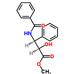 Methyl(2R,3S)-N-tert-butoxycarbonyl-3-phenylisoserinate CAS:124605-42-1