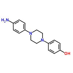 1-(4-Aminophenyl)-4-(4-hydroxyphenyl)piperazine CAS:74853-08-0