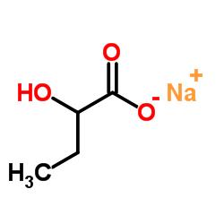 DL-2-Hydroxybutyric Acid Sodium Salt CAS:5094-24-6