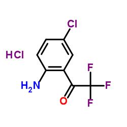 4-Chloro-2-(trifluoroacetyl)aniline hydrochloride CAS:173676-59-0