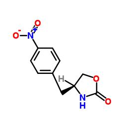 (S)-4-(4'-Nitrobenzyl)-1,3-oxazolidine-2-one CAS:139264-66-7