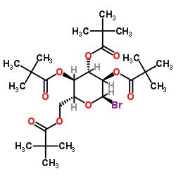 2,3,4,6-Tetra-O-pivaloyl-alpha-D-glucopyranosyl bromide CAS:81058-27-7