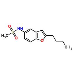 N-(2-Butylbenzofuran-5-yl)methanesulfonamide CAS:437652-07-8