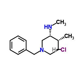 (3R,4R)-1-Benzyl-N,4-dimethylpiperidin-3-amine dihydrochloride