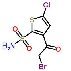 3-(2-Bromoacetyl)-5-chlorothiophene-2-sulfonamide CAS:160982-11-6