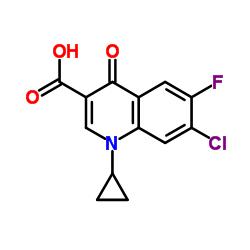 7-Chloro-1-cyclopropyl-6-fluoro-1,4-dihydro-4-oxoquinoline-3-carboxylic Acid CAS:86393-33-1