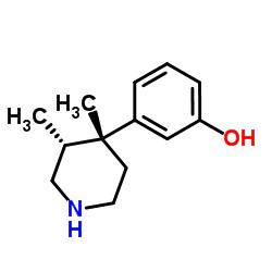 (3R, 4R) -3,4- 디메틸 -4- (3- 히드 록시 페닐) 피 페리 딘