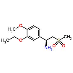 (1S) -1- (3-에 톡시 -4- 메 톡시 페닐) -2- 메틸 설 포닐 에탄 아민