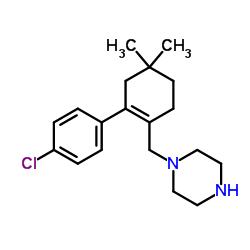 1 - ((2- (4-clorofenil) -4,4-dimetilciclohex-1-enil) metil) piperazina