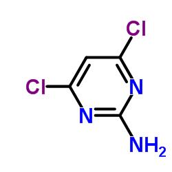2- 아미노 -4,6- 디클로로 피리 미딘