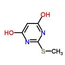 2- 메틸 티오 -4,6- 피리 미딘 디온