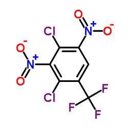 2,4-Dichloro-3,5-dinitrobenzotrifluoride CAS:29091-09-6