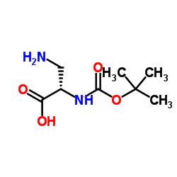 N(Alpha)-Boc-L-2,3-Diaminopropionic Acid CAS:73259-81-1