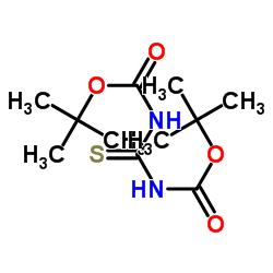 tert-butyl N-[(2-methylpropan-2-yl)oxycarbonylcarbamothioyl]carbamate CAS:145013-05-4