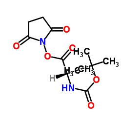 BOC- 알라닌 -1- 히드 록시 수지이 미드 에스테르