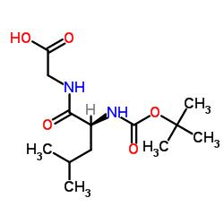 Ácido 2 - [[(2S) -4-metil-2 - [(2-metilpropan-2-il) oxicarbonilamino] pentanoil] amino] acético
