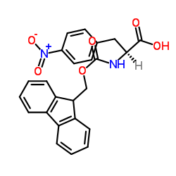 N-Fmoc-4-Nitro-L-Phenylalanine CAS:95753-55-2