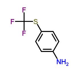4-(Trifluoromethylthio)aniline CAS:372-16-7