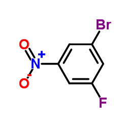 1-Bromo-3-fluoro-5-nitrobenzene CAS:7087-65-2