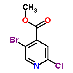 Methyl 5-bromo-2-chloroisonicotinate CAS:886365-28-2