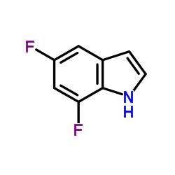 5,7-difluoro-1H-indole CAS:301856-25-7