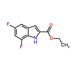 Ethyl 5,7-difluoro-1H-indole-2-carboxylate CAS:220679-10-7