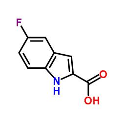 5-Fluoroindole-2-carboxylic acid CAS:399-76-8