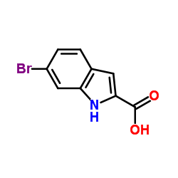 6-Bromo-1H-indole-2-carboxylic acid CAS:16732-65-3