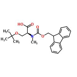 N-Fmoc-N-Methyl-O-tert-butyl-L-serine CAS:197632-77-2