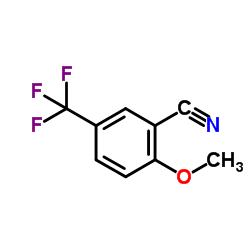 2-Methoxy-5-(trifluoromethyl)benzonitrile CAS:34636-92-5