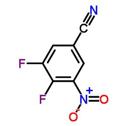 3,4-Difluoro-5-Nitrobenzonitrile CAS:1119454-07-7