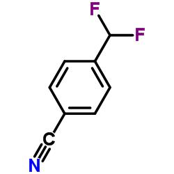 4-(Difluoromethyl)benzonitrile CAS:55805-10-2